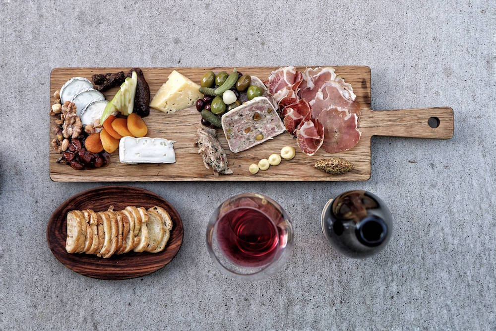 A charcuterie spread by The Girl and The Fig