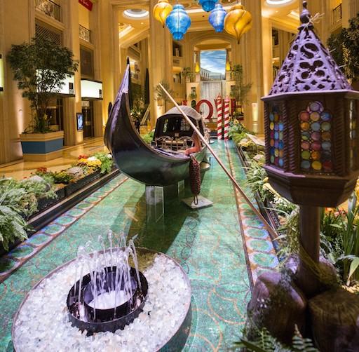 The Venetian and The Palazzo Gondola The Second Historic Venetian 1850 Gondola On Display In America Haute Living Tita Carra