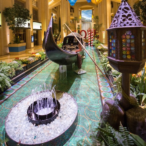 Behold The Second Historic Gondola Displayed In America At The Venetian And The Palazzo