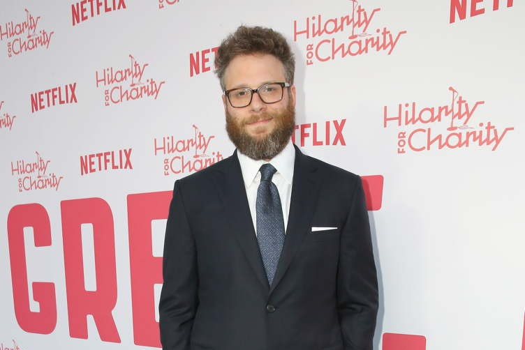 LOS ANGELES, CA - MARCH 24:  Seth Rogen attends Seth Rogen's Hilarity For Charity at Hollywood Palladium on March 24, 2018 in Los Angeles, California.  (Photo by Rachel Murray/Getty Images for Netflix) *** Local Caption *** Seth Rogen
