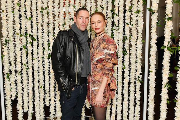 Filmmaker Michael Polish and actress Kate Bosworth