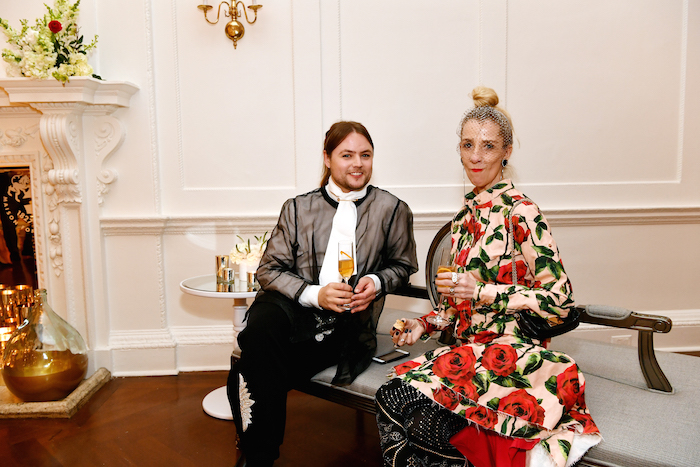 Stylist Edda Gudmundsdottier attends Grand Marnier's new campaign launch with Kate Bosworth, Kate Mara and Joseph Kahn