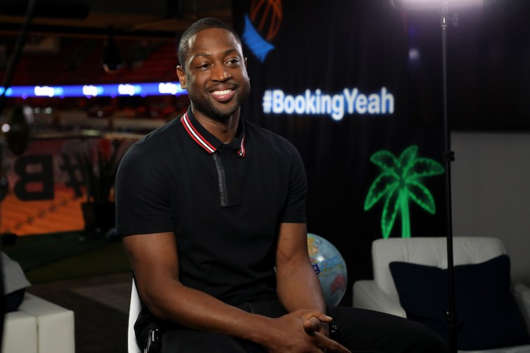 "Booking.com Kicks Off Its ""Book the U.S."" List With Dwyane Wade."