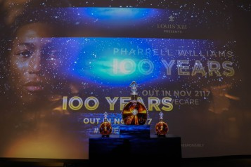 """LOUIS XIII Cognac Presents """"100 Years"""" The Song You'll Only Hear #IfWeCare By Pharrell Williams"""