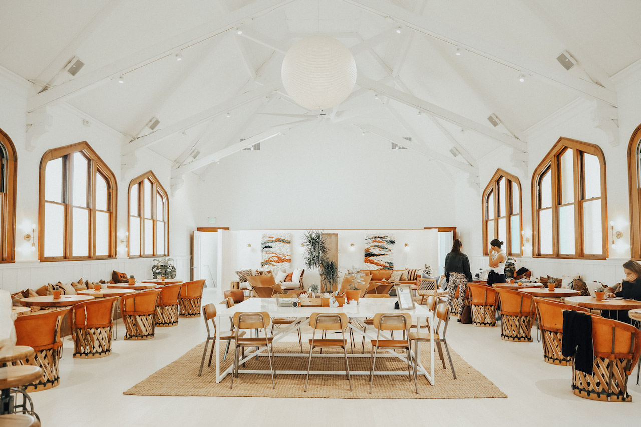 The co-working space at The Assembly