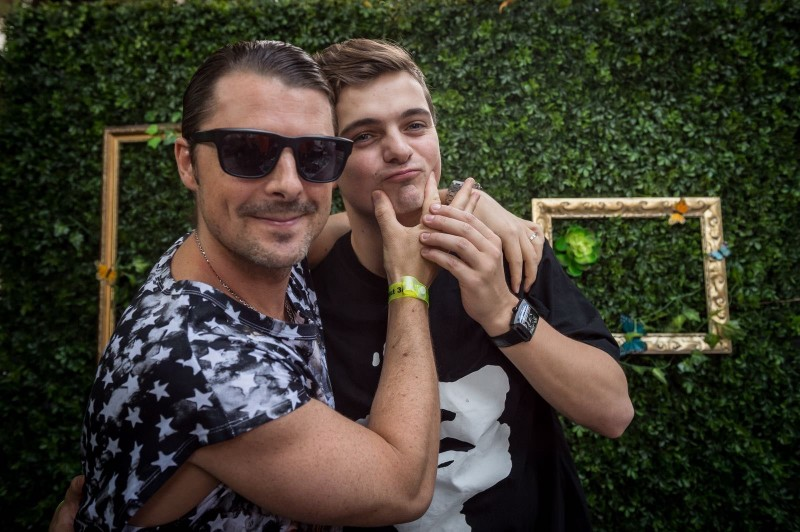 Axwell and Martin Garrix at Delano Beach Club #2 Photo Credit Matthew Enbar for DiskoLab 3.21[2][1]