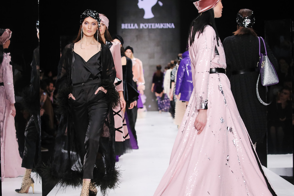Bella Potemkina's show at Mercedes-Benz Fashion Week Russia