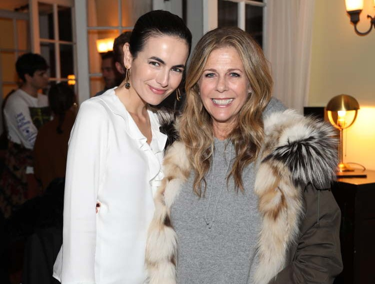 Camilla Belle and Rita Wilson