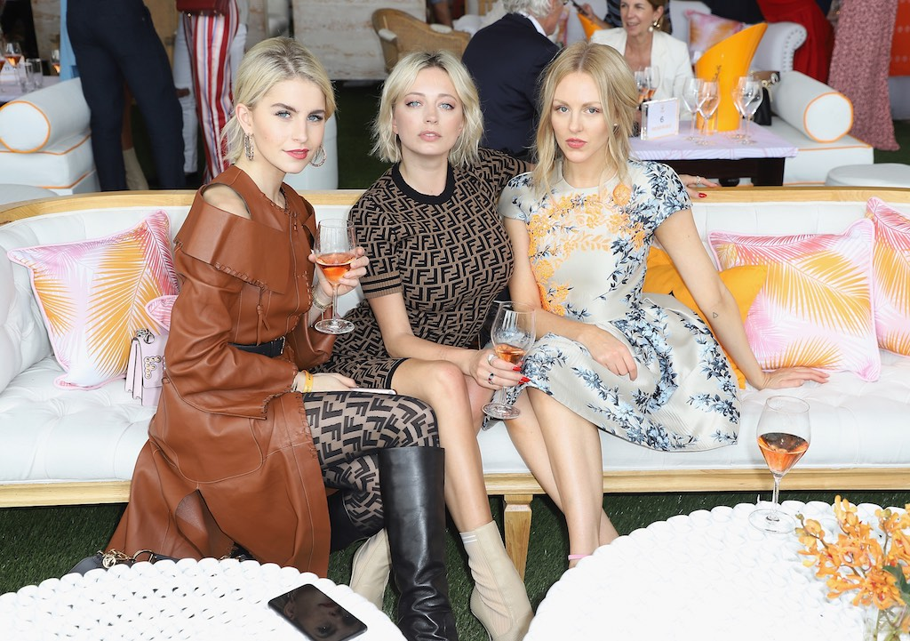 MIAMI, FL - MARCH 10: Caroline Daur, Caroline Vreeland and Shea Marie attend the 4th Annual Veuve Clicquot Carnaval at Museum Park on March 10, 2018 in Miami, Florida. (Photo by John Parra/Getty Images for Veuve Clicquot)