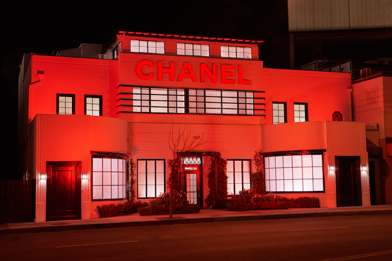 Step Inside The Dreamy Chanel Beauty House In West Hollywood