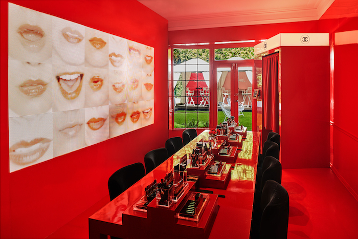 Chanel-Red-Dining-Room