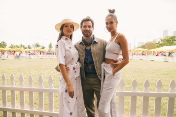 Eiza Gonzalez, Edgar Ramirez and Joan Smalls