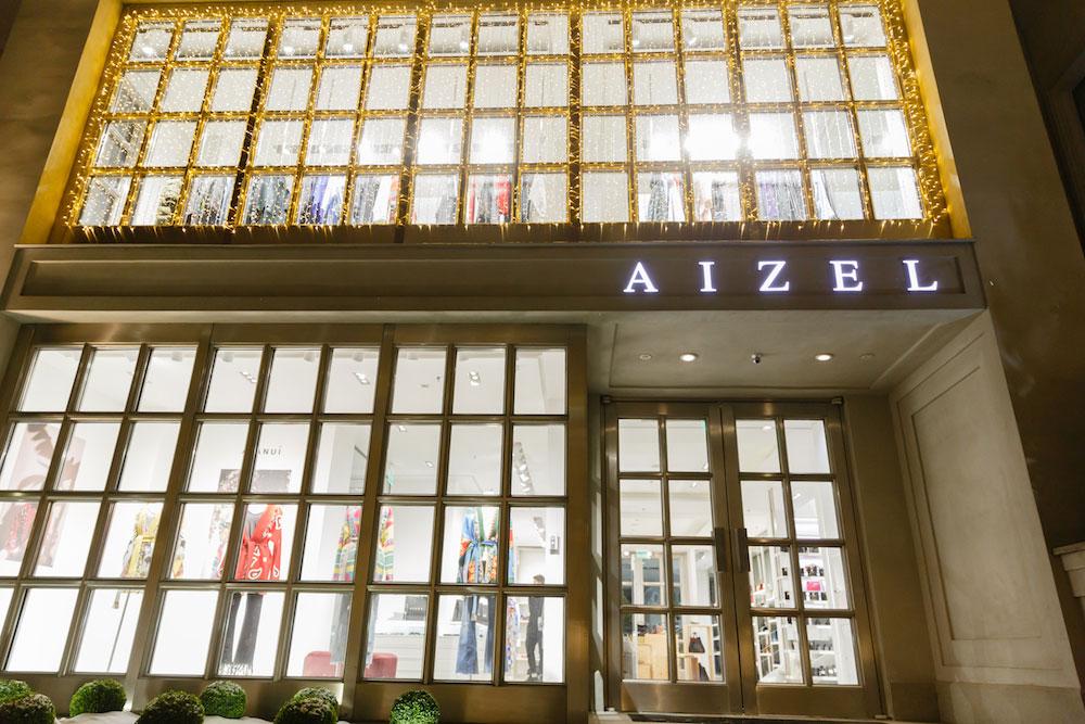 Aizel's storefront