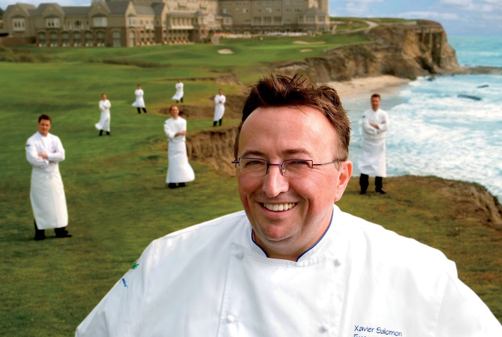 Chef Xaviar Salomon