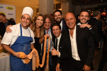 Frank Piazza, Stacey Shabtai, Fabio Granato, Mike Baccaro, Eddie Fuentes, Benny Shabtai, & Friend