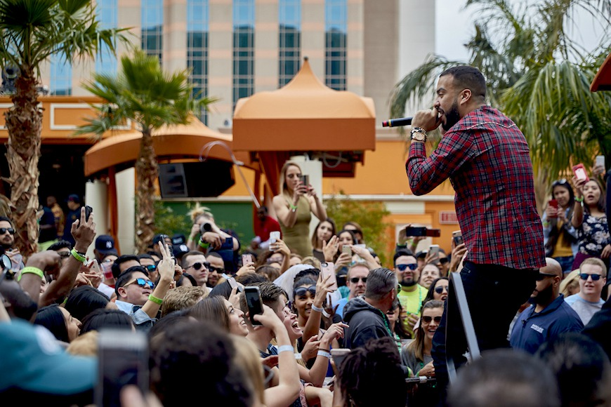 French Montana TAO Beach Elite Haute Living Venetian Las Vegas Tita Carra