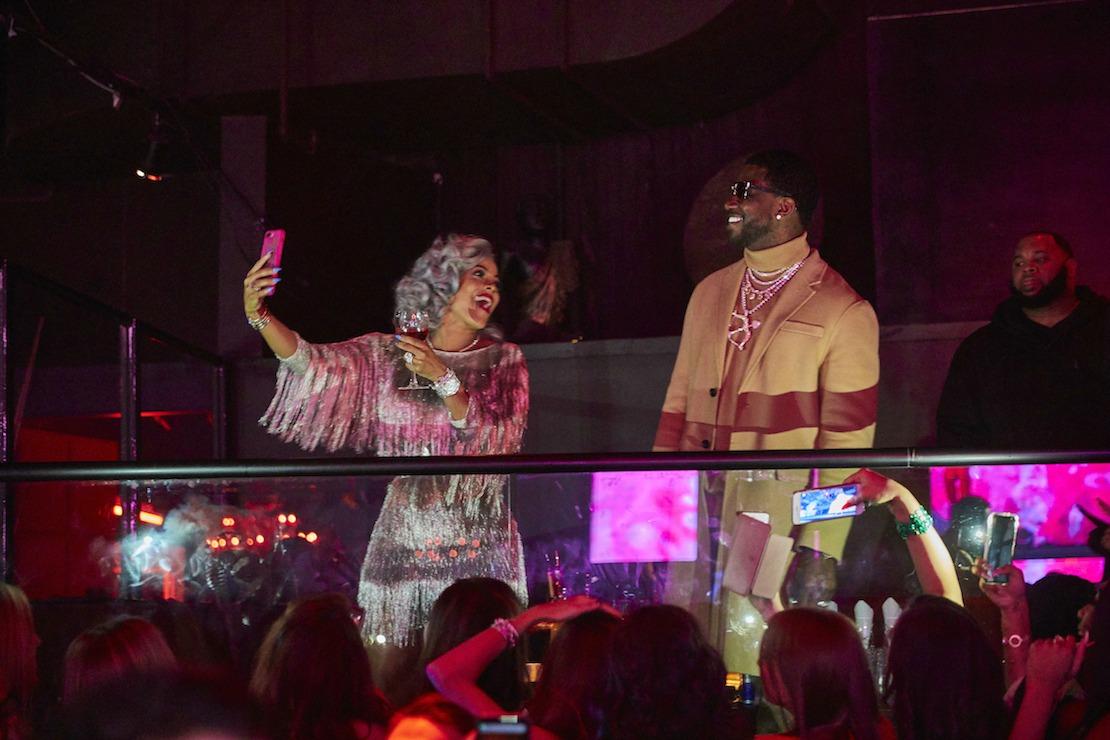 Gucci Mane Keyshia Ka'Oira TAO Venetian Elite Las Vegas Haute Living Tita Carra