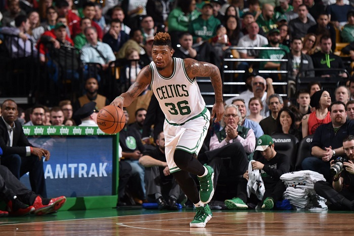 Marcus Smart out indefinitely after tearing tendon in thumb