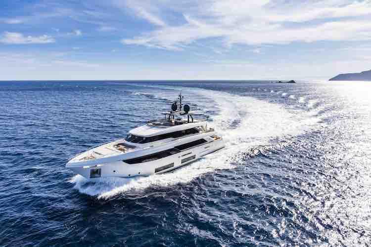 The Navetta 33 Dazzles Palm Beach International Boat Show