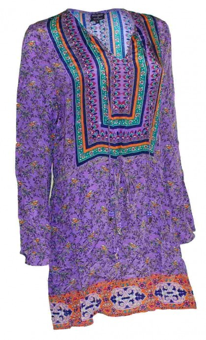 Nicky Hilton x Tolani - Lily Grace Purple Dress $223
