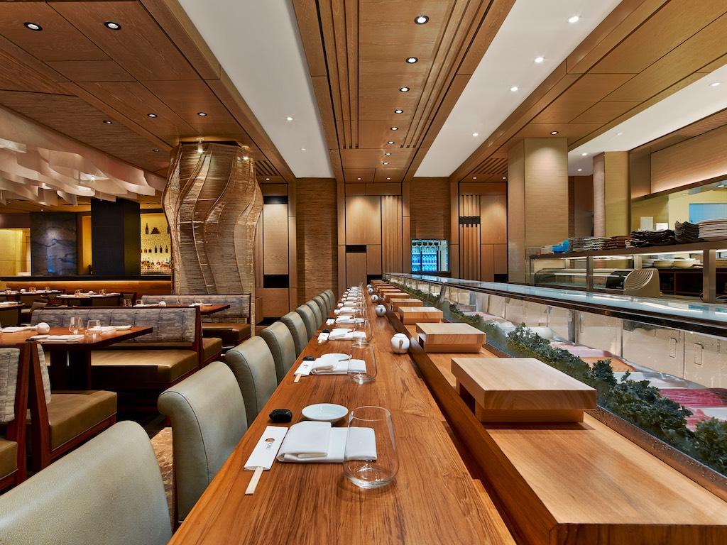 U Miami Restaurant At Eden Roc Beach Sushi Counter