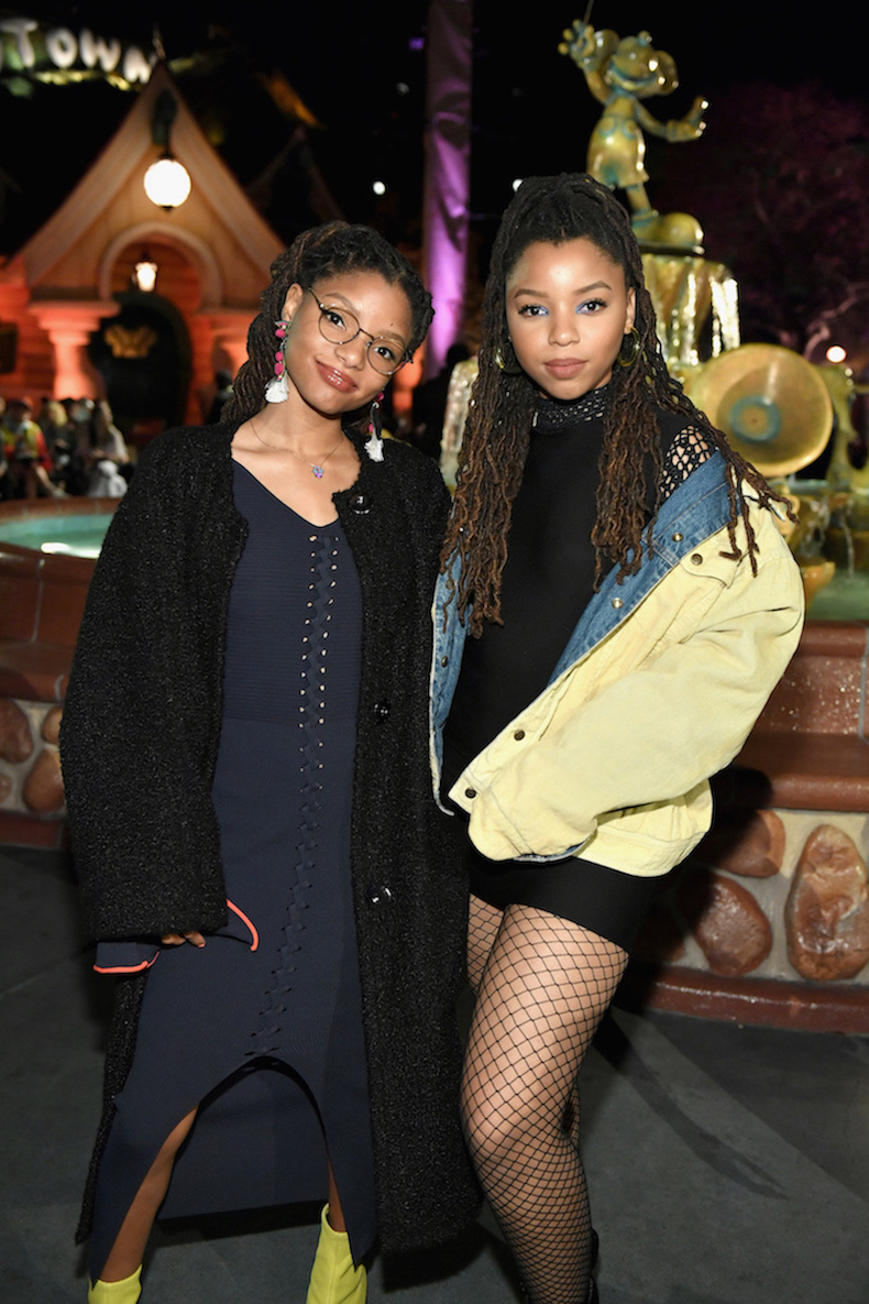 "ANAHEIM, CA - MARCH 07: Chloe X Halle attend the launch of ""Mickey the True Original"" campaign in celebration of Mickey's 90th anniversary with a fashion show featuring a Mickey-inspired collection by Opening Ceremony at Disneyland on March 7, 2018 in Anaheim, California. (Photo by Neilson Barnard/Getty Images for Disney)"