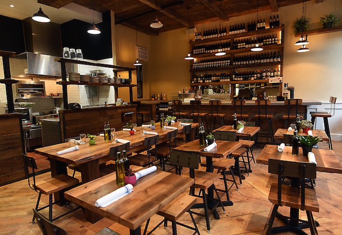 St Tropez Int w Bar 2 by Michael Tulipan