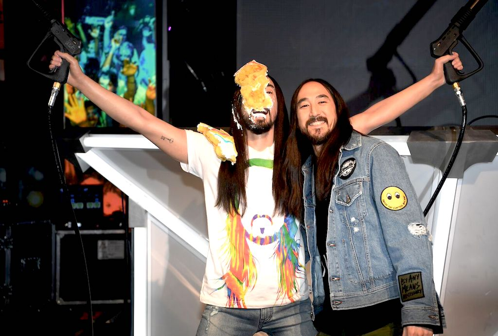 Steve Aoki Madame Tussauds Haute Living Tita Carra