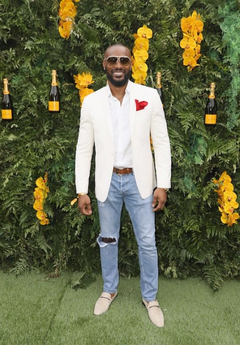 MIAMI, FL - MARCH 10: Tyson Beckford attends the 4th Annual Veuve Clicquot Carnaval at Museum Park on March 10, 2018 in Miami, Florida.