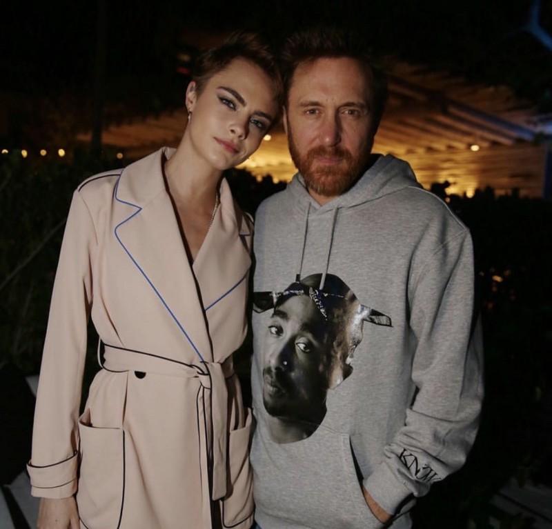 Cara Delavigne and David Guetta