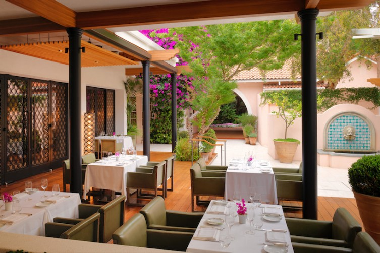 Wolfgang Puck at Hotel Bel-Air Terrace