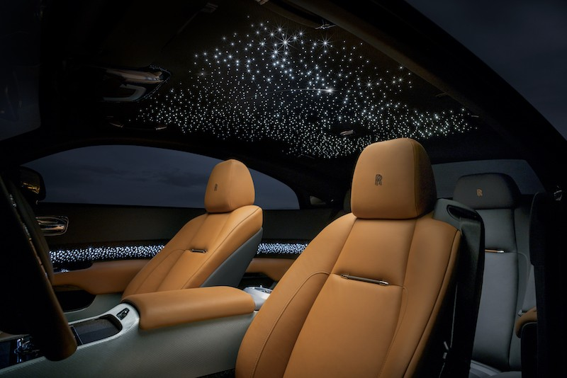 Wraith Luminary Collection Shooting Star headliner and illuminated wood