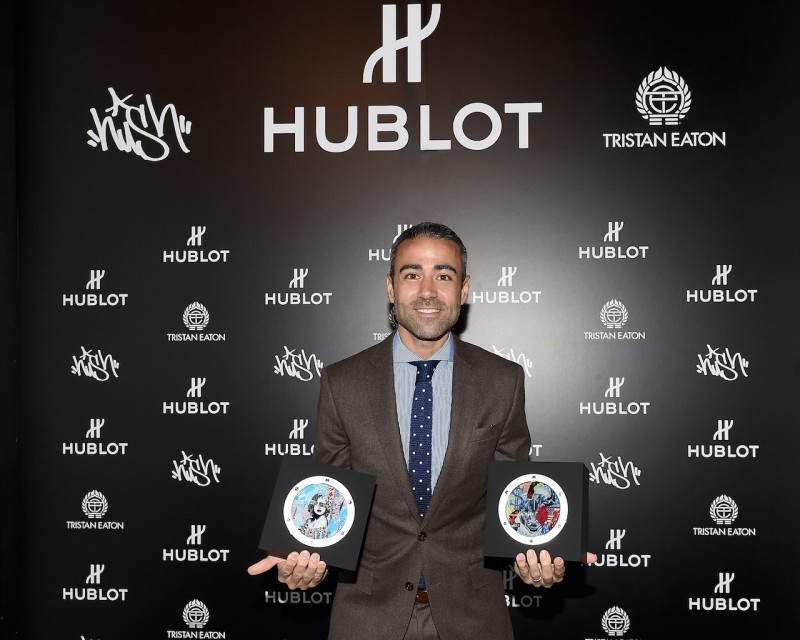 "Hublot Launches ""Fame v Fortune"" Timepieces With Street Artists Tristan Eaton And Hush"