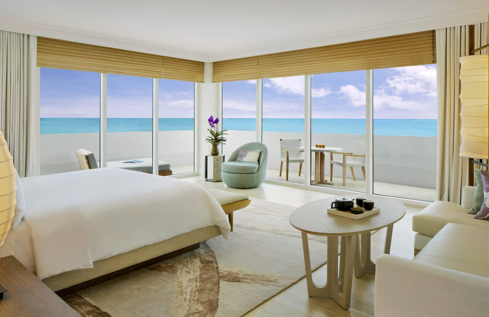 Nobu Hospitality Group Zen Suite Nobu Hotel Miami Beach Haute Living Tita Carra