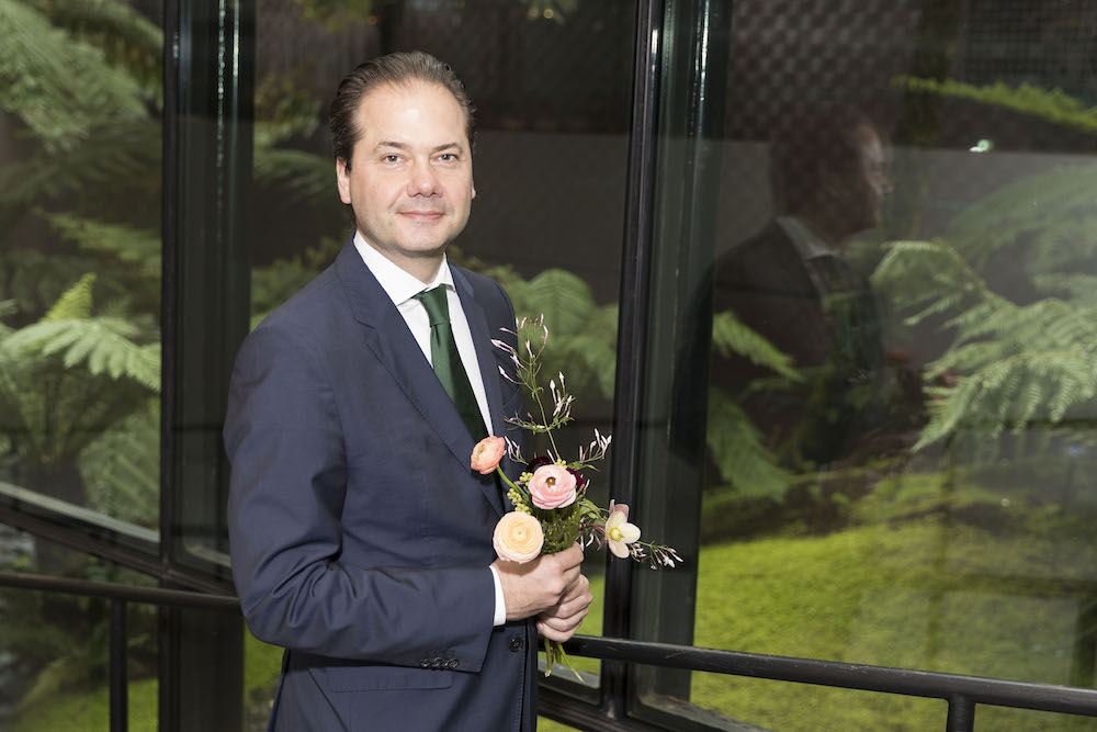 Max Hollein at the Bouquets to Art Gala on March 12th, 2018