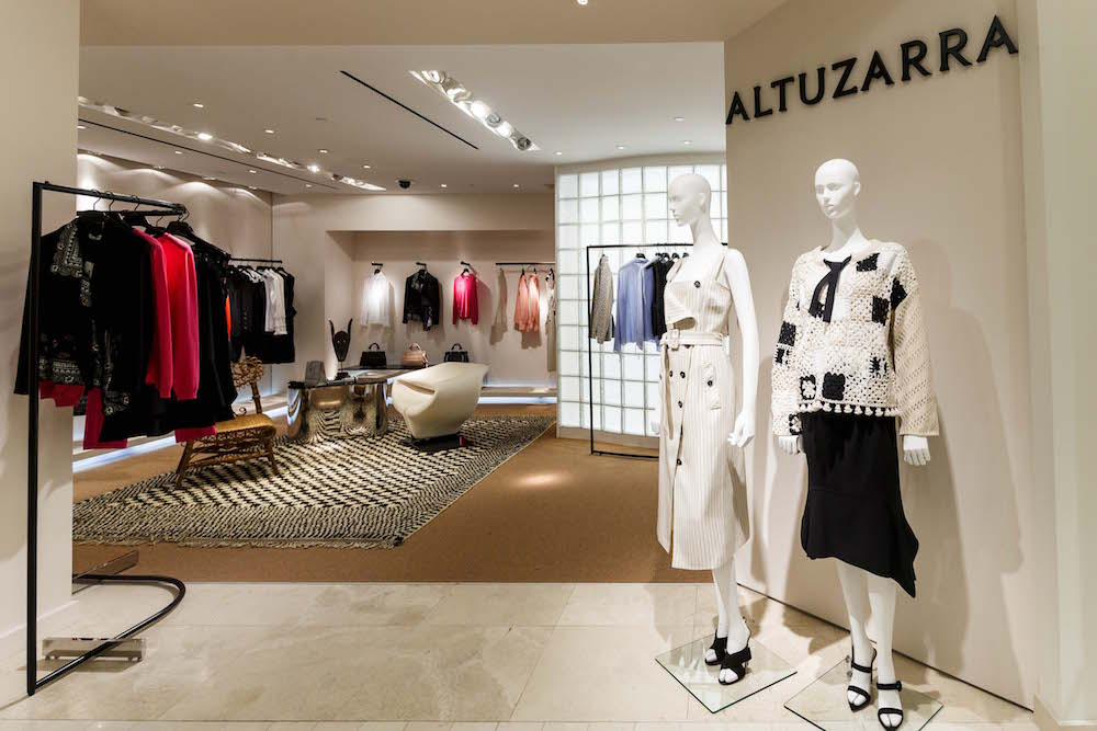 The new Altuzzara boutique