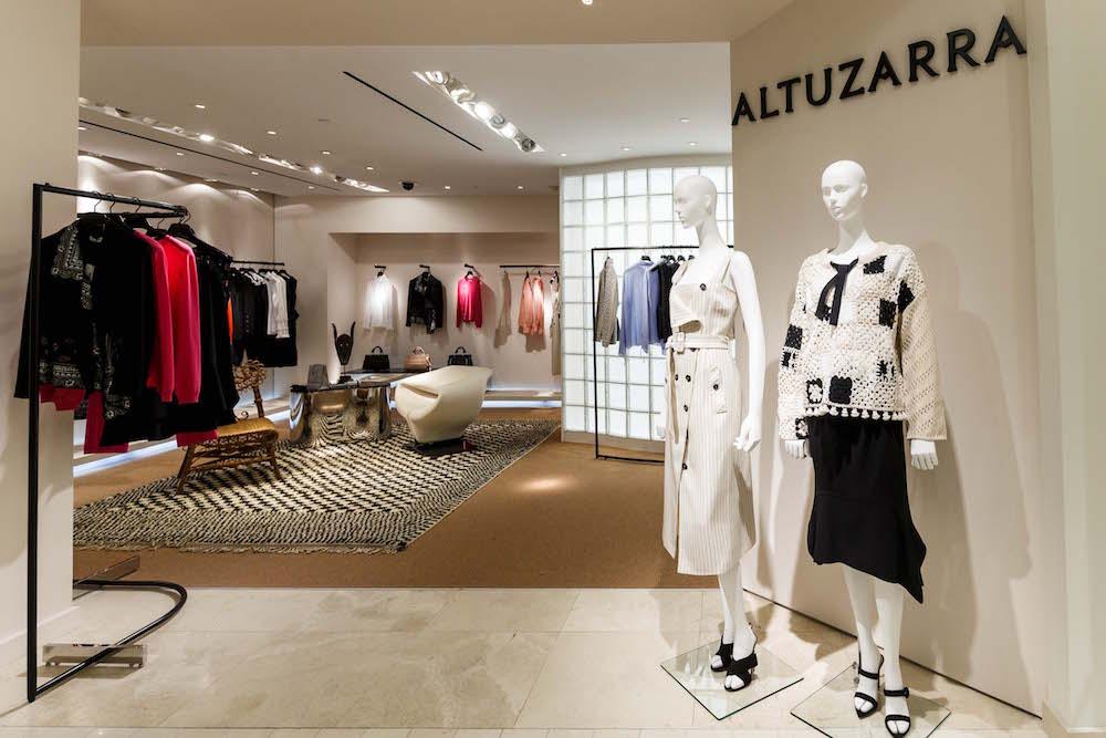 The new Altuzzara boutique