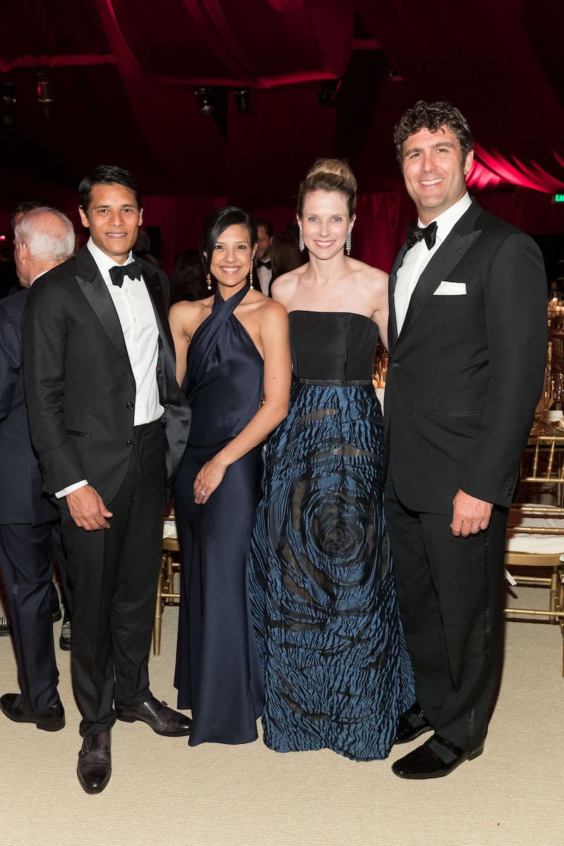 Nirav Tolia, Megha Tolia, Marissa Mayer and Zach Bogue