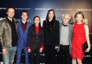 "Fritz Bohm, Colin Kelly-Sordelet, Bel Powley, Liv Tyler, Brad Dourif, Celine Rattray at The Cinema Society & Gemfields special screening of IFC Midnight's ""Wildling"" at the Pic Theater, New York, NY"