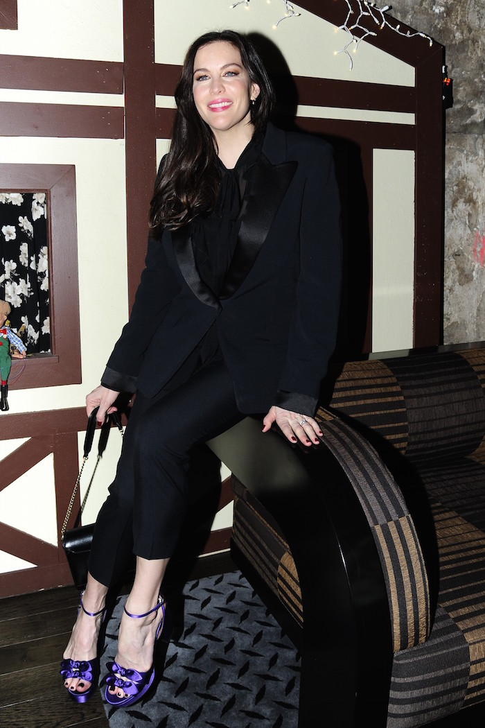"Liv Tyler at the after party for IFC Midnight's ""Wildling"" at Alley Cat Amateur Theatre at The Beekman, New York"
