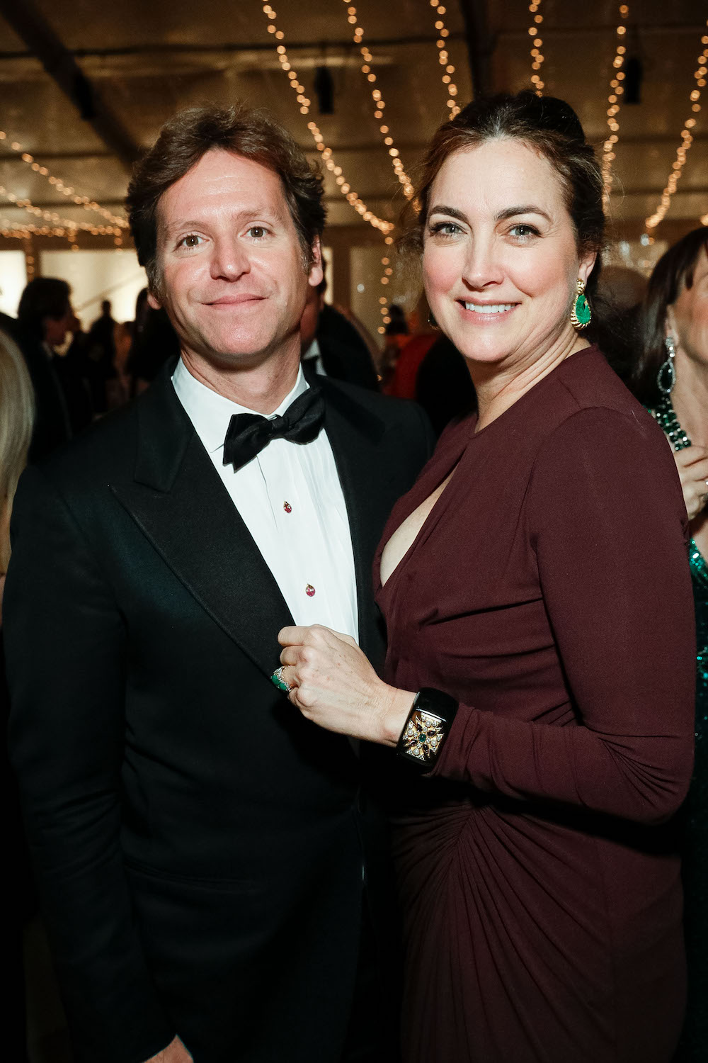 Trevor Traina and Alexis Traina at an event at the Legion of Honor on December 12, 2017