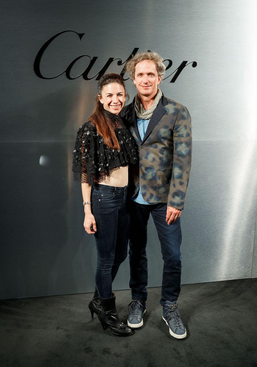 Sabrina Buell and Yves Behar