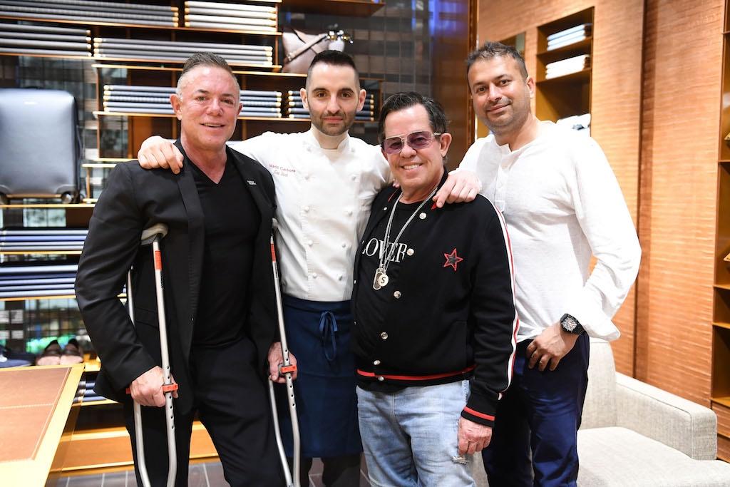 Shareef Malnik, Mario Carbone, JR Ridinger, Kamal Hotchandani