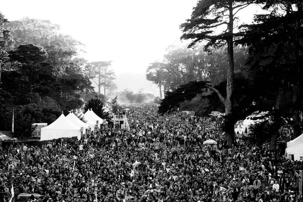 The crazy scene at last year's Outside Lands