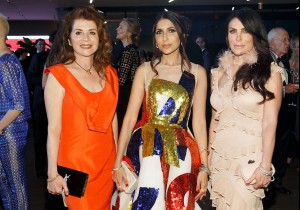 SAN FRANCISCO, CA - April 6 -  Farah Makras, Sobia Shaikh and Lisa Zabelle attend Mid-Winter Gala 2018 Sponsored by CARTIER on April 6th 2018 at de Young Museum in San Francisco, CA (Photo - Arthur Kobin for Drew Altizer Photography)
