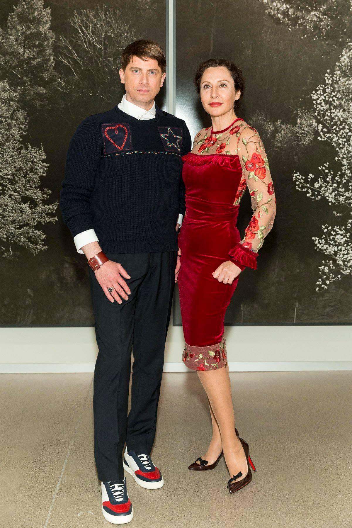 Aubrey Brewster with Clara Shayevich (Photo-Drew Altizer)