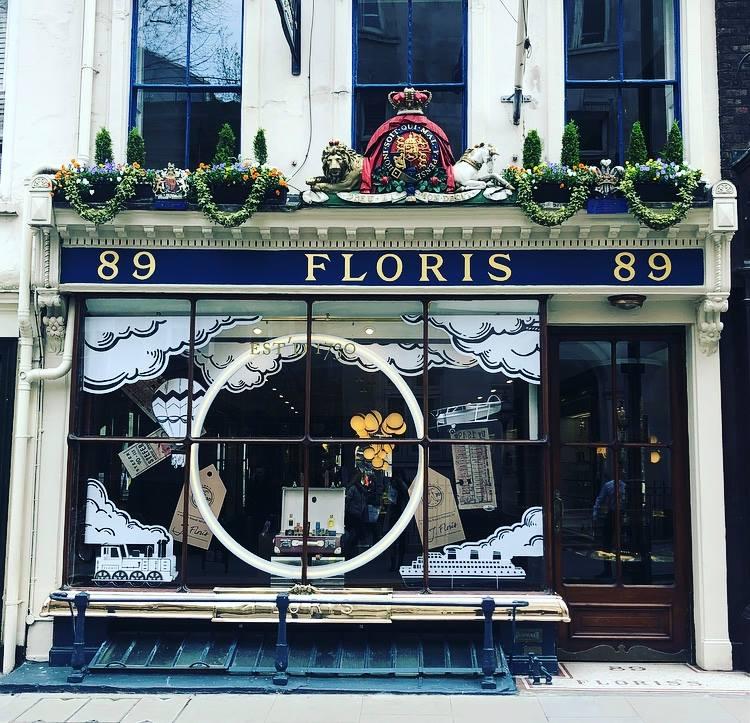 Floris' storefront