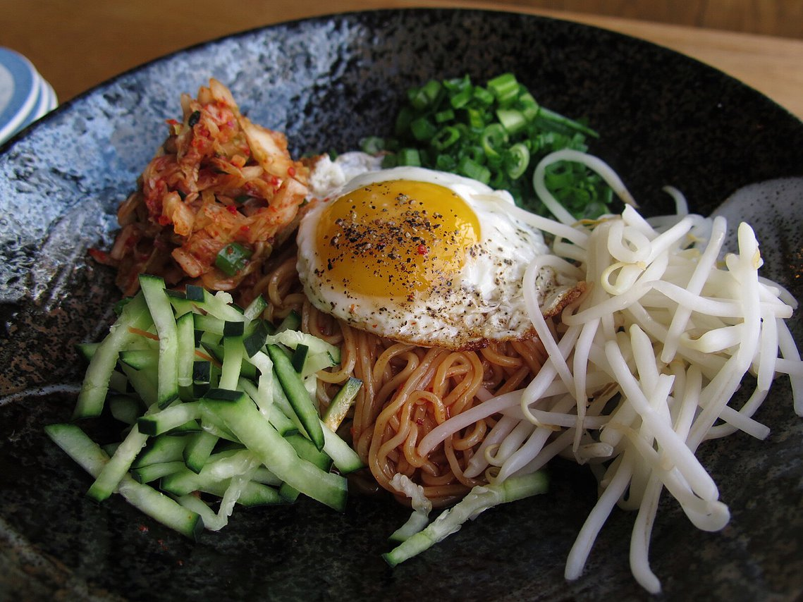 A brunch dish at Chubby Noodle