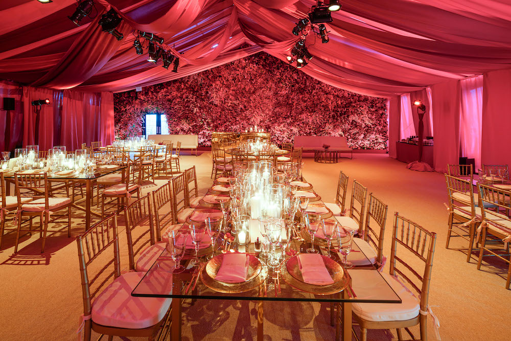 The gorgeous tent