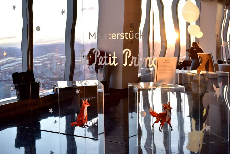 Montblanc Meisterstuck Le Petit Prince event at One World Trade Center Observatory